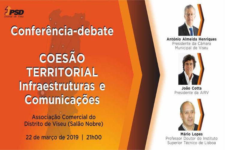 Coesão Territorial – Infraestruturas e Comunicações  é tema de conferência a decorrer em Vise